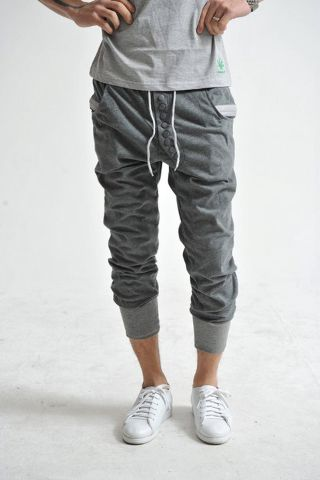 I am VERY interested in trying some skinny sweat pants...Hmmmm