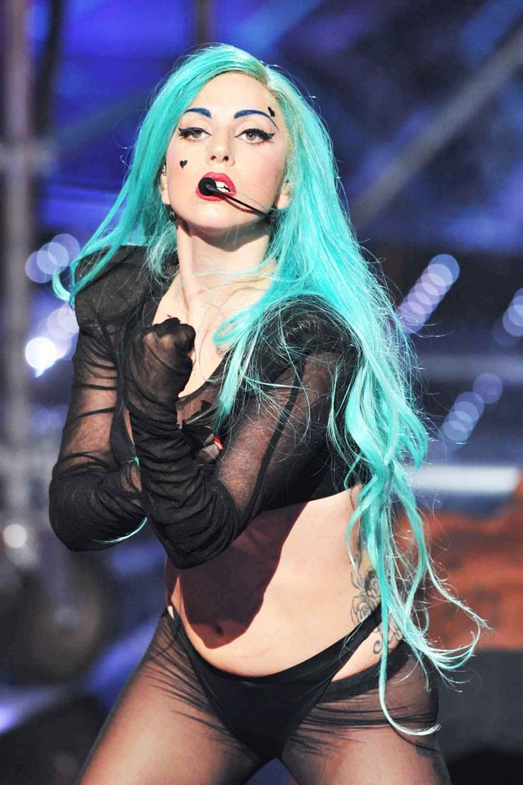 Why is it ok for Gaga and not for me to have teal hair.