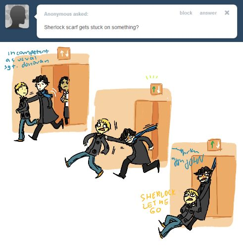 """""""This is probably why he got a different scarf in s2"""" <---- This would make sense..."""