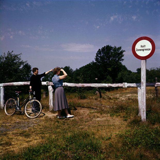 Zonengrenze, Niedersachsen, 1956 © J.H. Darchinger/courtesy Friedrich-Ebert-Stifung, Bonn