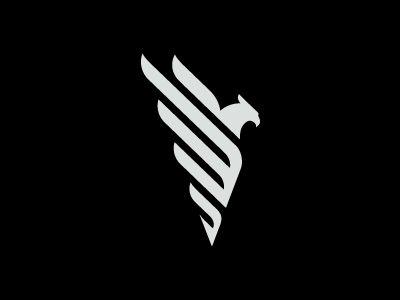 Phoenix by Kirill demidenko. Powerful logo design. Love this.