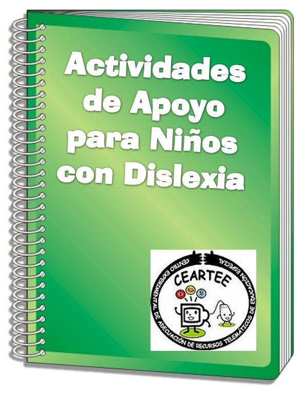 Fichas con Actividades de Apoyo para niños con Dislexia. Descriptores_Tamaños_Ubicación Espacial Líneas Punteadas_...