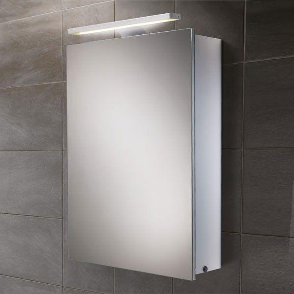£353.95 Galaxy Illuminated Mirrored Cabinet
