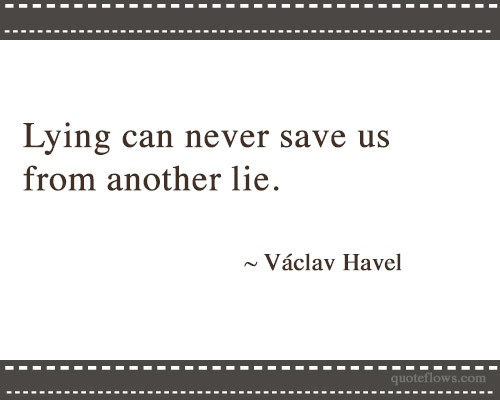 "vaclav havel living in truth essay The enduring lesson of vaclav havel's immortalized essay ""living within the truth"": vaclav havel & ""the vaclav havel, living in a ruthless communist."