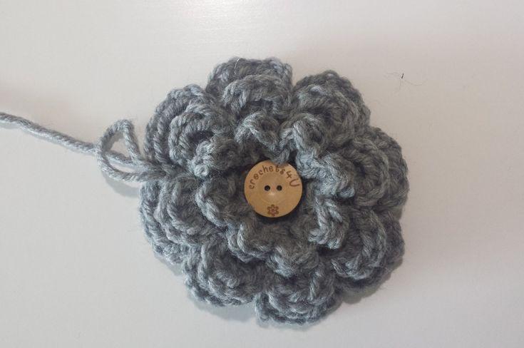 bloem haken / crochet flower