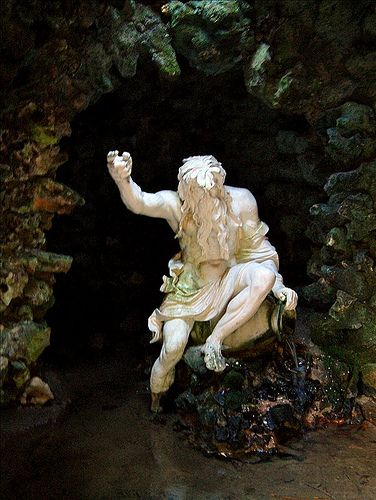 grotto stourhead | von P.J.W