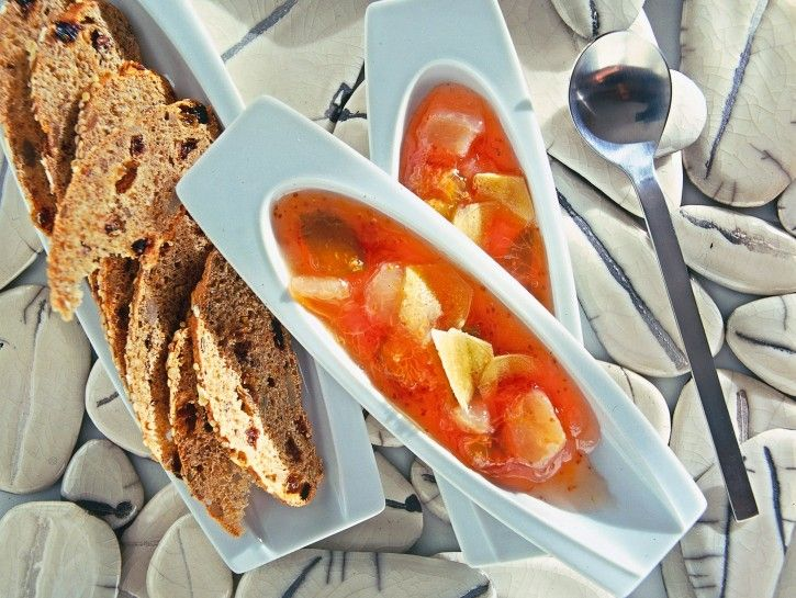 marmellata di pesche e fichi