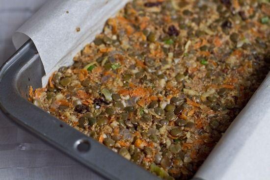vegan lentil walnut loaf | Recipe | Pinterest