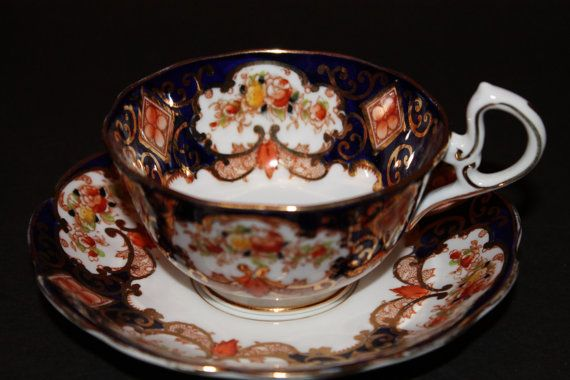 Royal Albert Bone China Teacup and Saucer Duo by CraigsTreasures, $45.00
