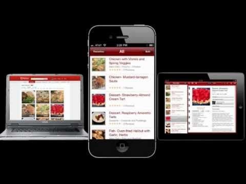 BigOven Organizes Your Recipes.  A great food & cooking website with apps for iphones, ipads, etc.  Explore recipes posted by others and share your own.    The actual site's URL is http://www.bigoven.com/
