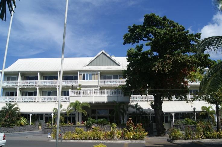 #Travel:  Aggie Grey's Hotel, Apia, Upolo, #Samoa.    Photo Credit: Dawne Rudman