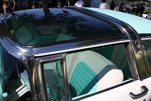 55 ford crown victoria glass roof top sickest car to ride. Black Bedroom Furniture Sets. Home Design Ideas