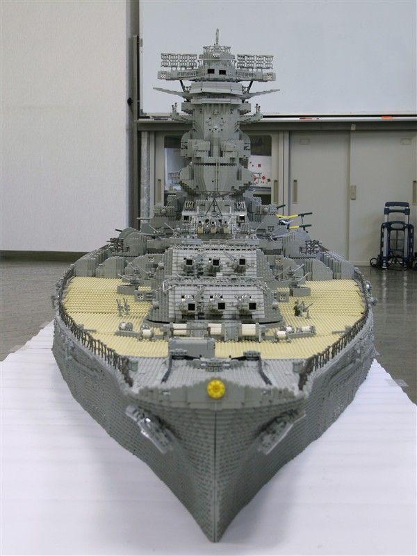Lego Battleship Yamato Is Biggest Lego Ship Ever