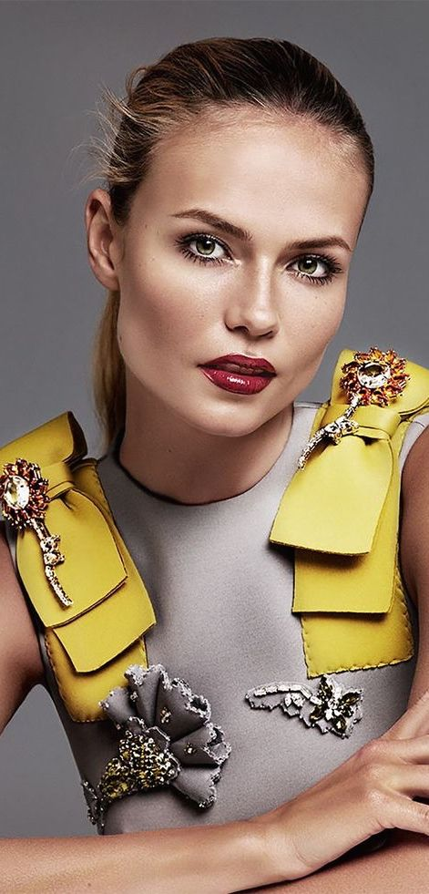 Natasha Poly in Prada by Alique for Glamour Russia, September 2015