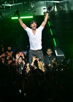 Enrique Iglesias performs for Univision Radio during the 2013 Univision Upfront at Terminal 5 on May 14, 2013 in New York City.