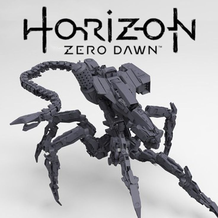 Production 3D Concept for the Corruptor robot in Horizon.  Art Direction: Jan Bart van Beek / Roy Postma  Some kitbash parts by Vitali Bulgarov.  See the in-game model for this concept: Lennart Franken https://www.artstation.com/artist/lennartfranken  ©2017 Sony Interactive Entertainment Europe. Horizon Zero Dawn is a trademark of Sony Interactive Entertainment America LLC. Developed by Guerrilla
