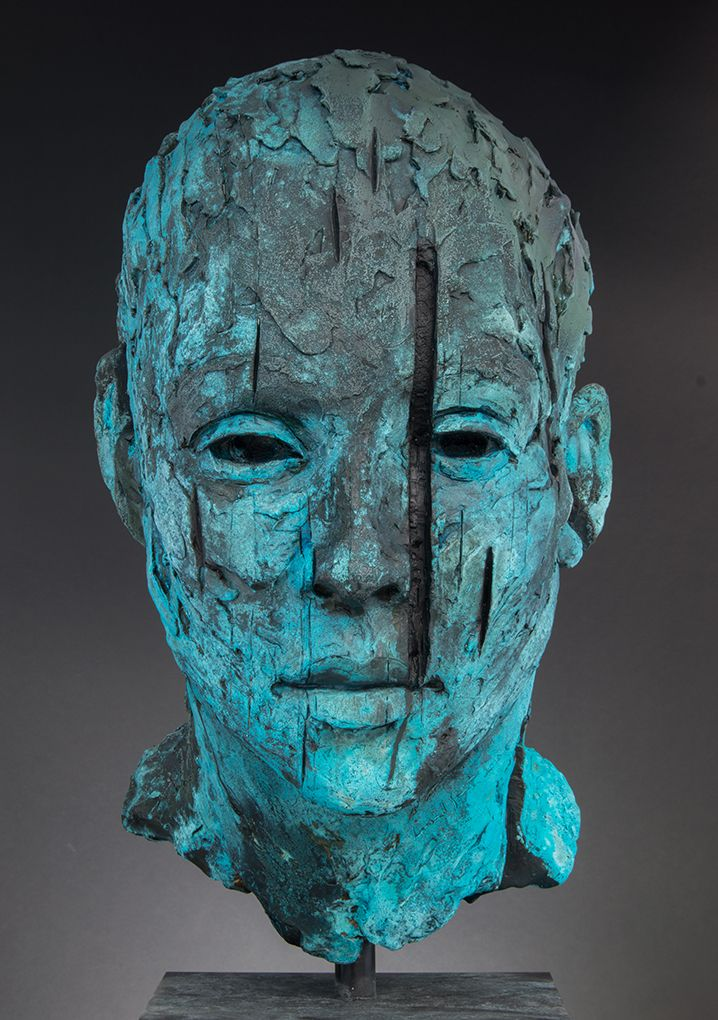 #Sculpture by Lionel Smit entitled: Large Malay Girl #SouthAfricanArtist