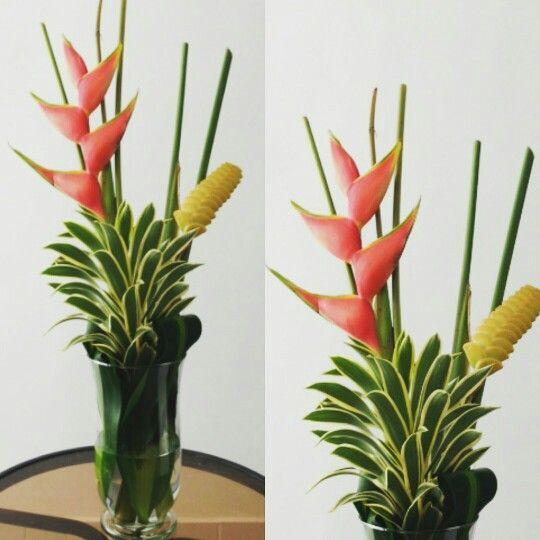 heliconias de nuestra región para tu decoración #tropicalflowers #flowerarregement