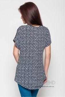 Свободная блуза из штапеля Morella