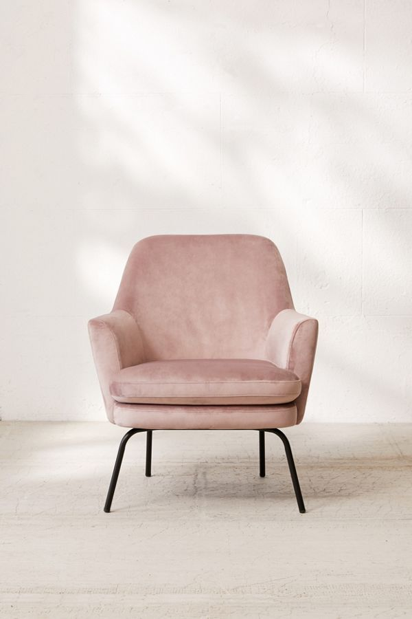 Chloe Velvet Arm Chair | Design - The side pieces in 2019 ...