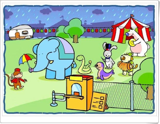 """""""Misterio en el circo"""" de Editorial Anaya (Cuento animado de Educación Infantil)"""