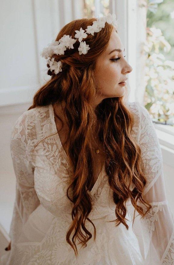 2019 Brautfrisuren Fur Rote Haare Brautfrisuren Rote Haare Frisur Rote Haare Brautfrisur
