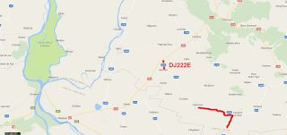 Tractari-Auto-Constanta.ro: Drum judetean 222E-Intersectie DN 22A cu RAHMAN-Tu...