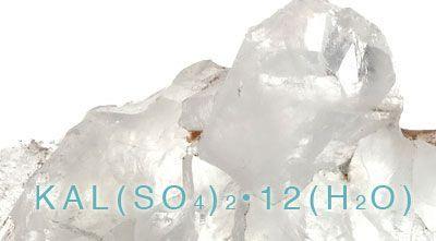 No Sweat - Potassium Alum Crystal Deodorant