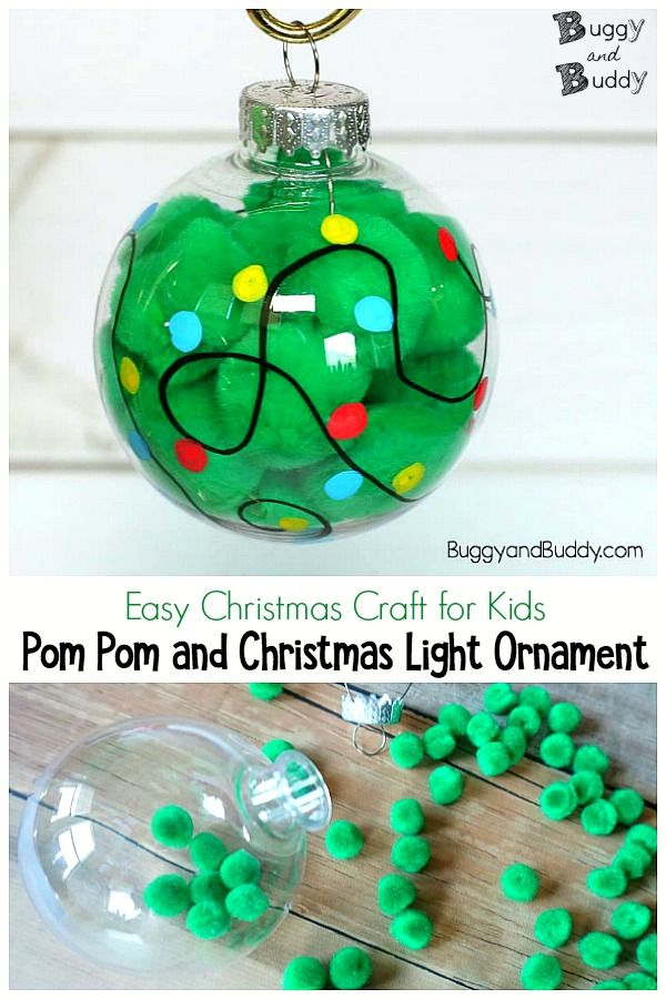 Christmas Light Ornament Craft For Kids Buggy And Buddy Christmas Crafts For Kids Christmas Crafts Diy Christmas Light Ornament