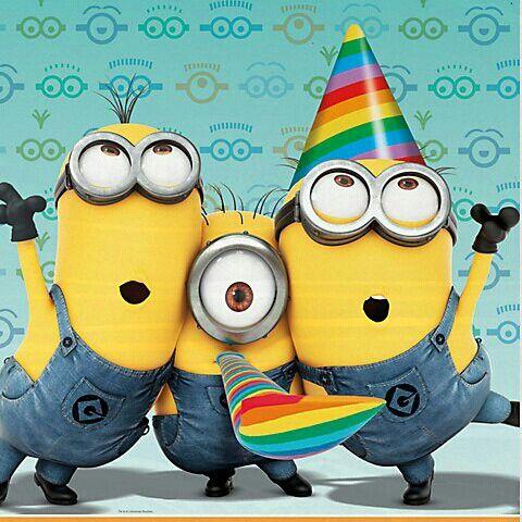 Birthday Minions | Graphics & Clip Art | Pinterest ...
