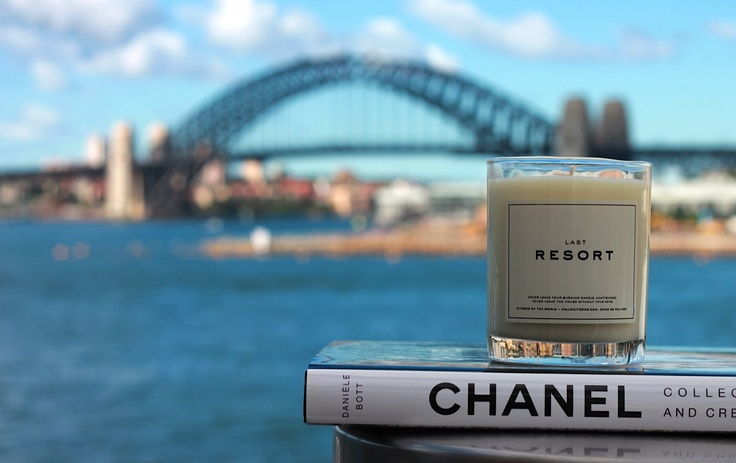 Beautiful shot of our Citizens of the World Native Gardenia candle with Sydney Harbour in the background. Thank you Natalie from Eat Read Love for sending!