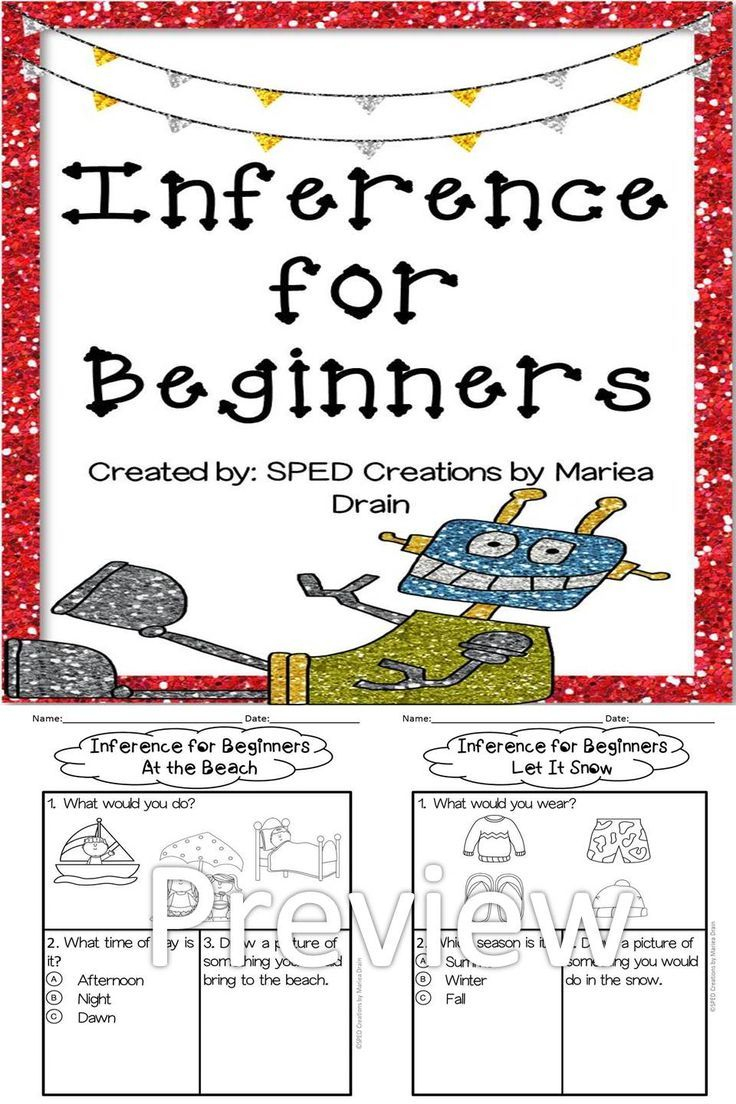 *Free* 2 Inference activities for beginners. (scheduled via http://www.tailwindapp.com?utm_source=pinterest&utm_medium=twpin&utm_content=post7244660&utm_campaign=scheduler_attribution)