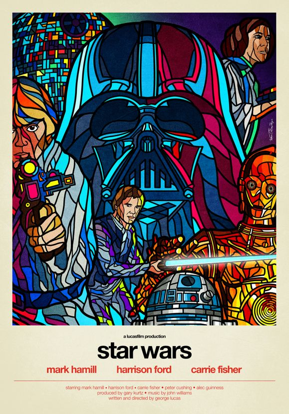 Star Wars - Stained Glass