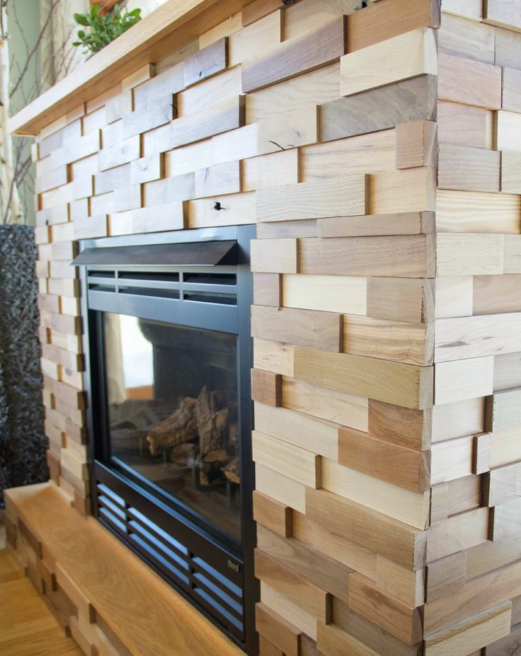 The Divine Living Space Blog: An Upcylced Fireplace Facelift; A before and after!