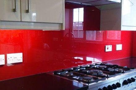 Kitchen Splash Backs Cut to Size | Vibrant High Gloss Colours
