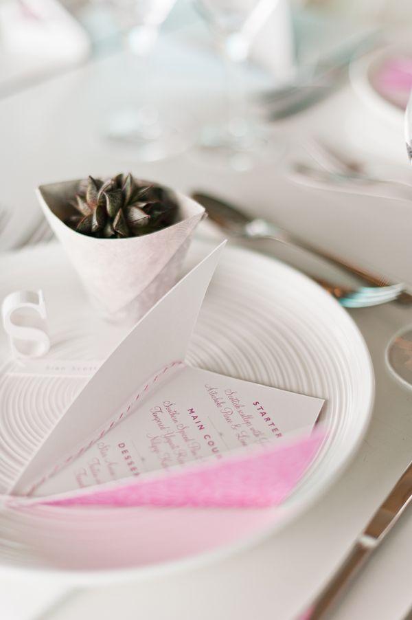 Ideas para bodas: Menú // Wedding ideas: Menu  Pequeños detalles que hacen que un menu de boda cobre otro sentido #menudeboda