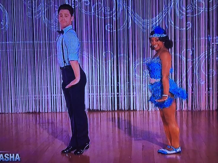 """Simone Biles and partner Sasha Farber impressed again on Monday's """"Dancing With The Stars."""" On the movies-themed night, they performed a Charleston to Bob Wilson & His Varsity Rhythm Boys's aptly named song """"Charleston."""" Watch the video here of their routine."""