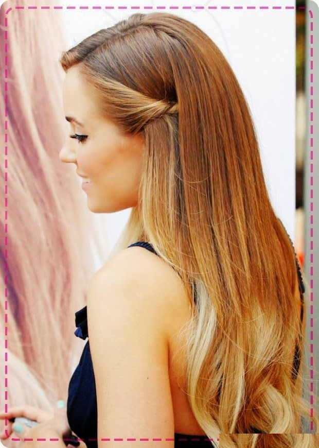 Latest Elegant Party Hairstyle For Long Hair Elegant Hairstyle