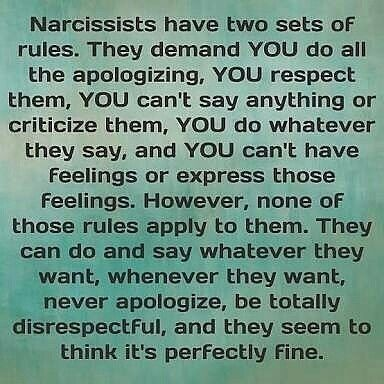 If you've been in a close relationship with a narcissist you will have experienced the heartbreak and horror or realising it is ALL about him and her. The narcissist's demands (that must be met) are unreasonable and even unliveable. The invasions into your life, things, thoughts, and even your emotions are incredibly violating. The narcissist seems to truly believe that they are unique and special, and they need to be treated as such.Click on the image to reveal a video explaining all! #narc