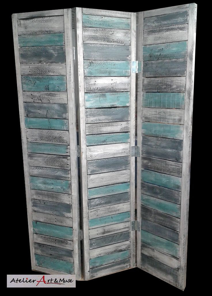 fabriquer un paravent en bois un paravent en bois peint commes des carreaux paravent paravent. Black Bedroom Furniture Sets. Home Design Ideas