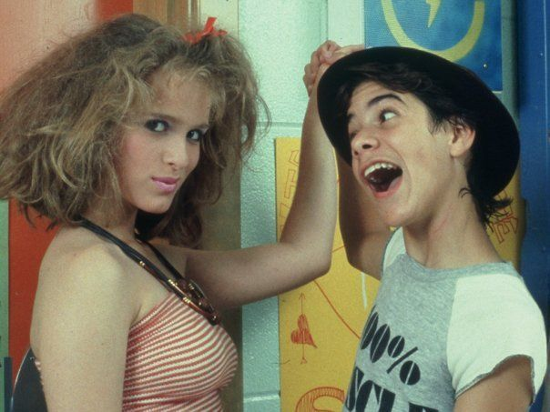 Stephanie Kaye and Joey Jeremiah #Degrassi Junior High