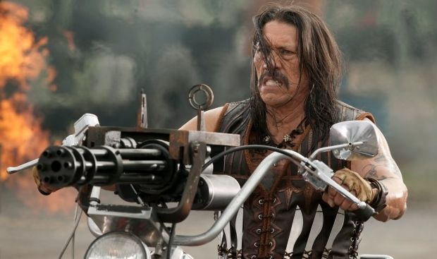Machete's Danny Trejo Joins The Flash in Season 4  Several new additions to the cast of The Flash were announced today during the show's panel at San Diego Comic-Con.  Danny Trejo (Machete Sons of Anarchy) will star in Season 4 as Breacher a bounty hunter from Earth-19 who seeks to protect his his daughter Gypsy (Jessica Camacho) and the rest of his planet from inter-dimensional travelers.   Danny Trejo in Machete  MeanwhileNeil Sandilands (The Americans The 100) will star as the central…