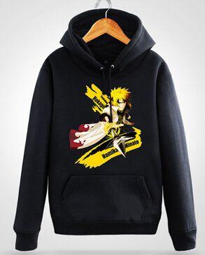 Naruto fox hoodie jacket Uchiha Madara cardigan Sabaku no Gaara Noctilucent Itachi Uchiha Sasuke costume cotton coat hoodie #Affiliate