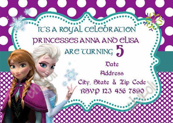 174 best Fiesta Frozen invitaciones Frozen Party Invitations