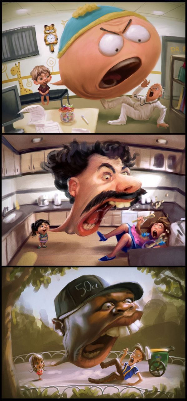 If you have special interest in digitally developed illustrations, then again you can simply take a journey of Tiago Hoisel masterpieces.