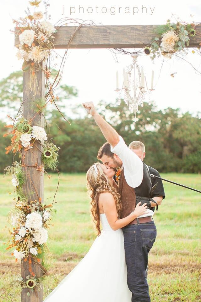 the best day ever. rustic country wedding