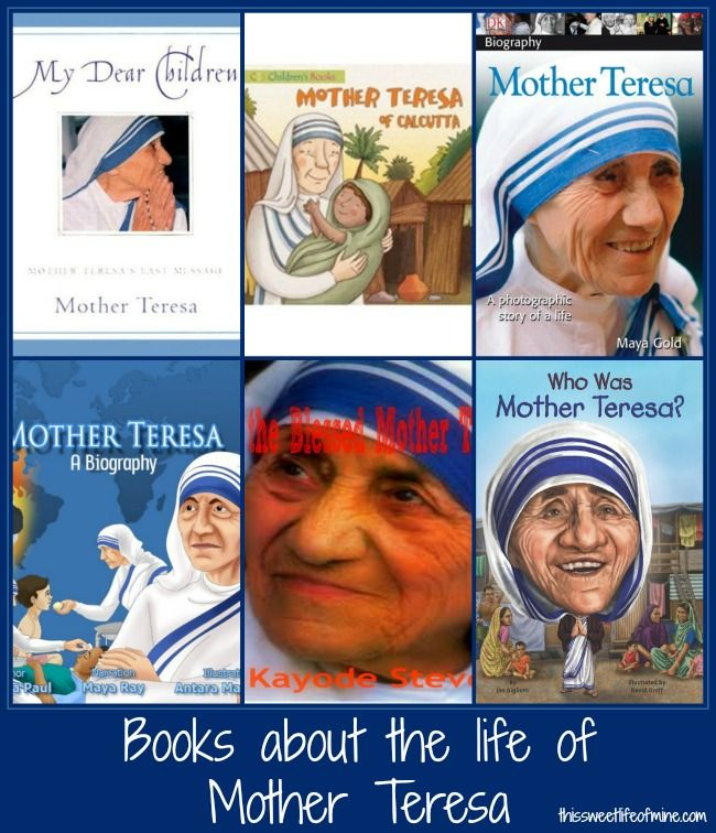 Mother Teresa Printable and Activities for Women's History Month