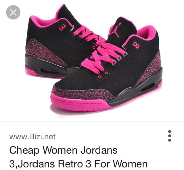 Air Jordan 3, Air Jordan Retro, Cher, Basketball, Jordans, Chang'e 3, Rose,  Women's, Pink