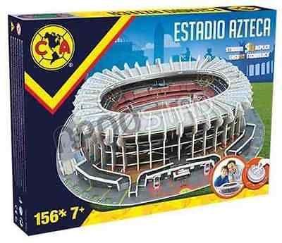 Club America Aguilas Estadio Azteca, Stadium 3D Puzzle, 156 pcs, New, Sealed
