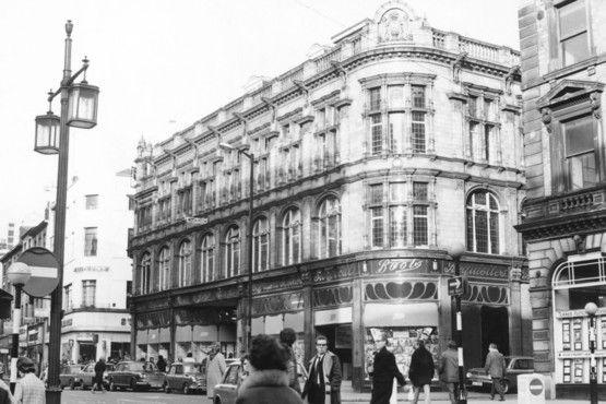 Boots, High Street, Nottingham, 1970